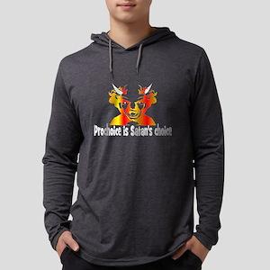 Tea party vs satan Long Sleeve T-Shirt