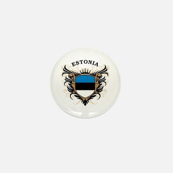 Estonia Mini Button