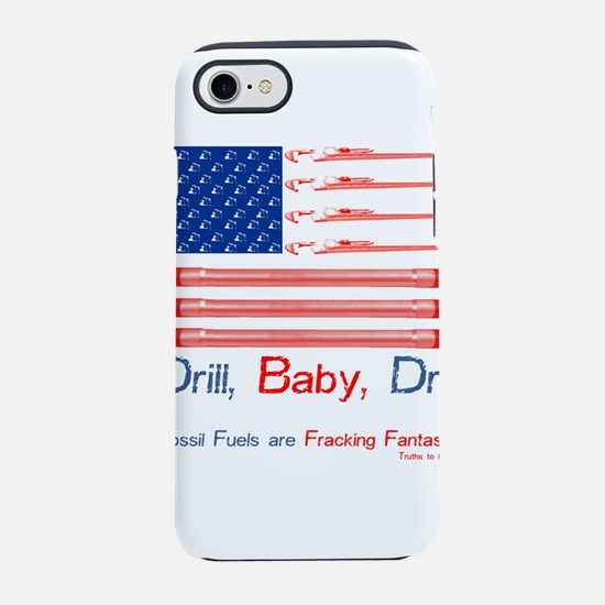 American oil and gas flag Drill,baby, drill iPhone