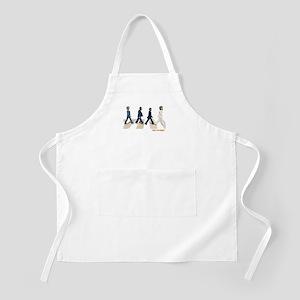Hillary,Bill,JFK,FDR on Abbey BBQ Apron