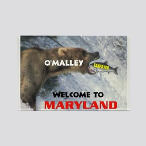 O'MALLEY'S TAXES Rectangle Magnet