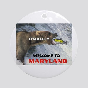 O'MALLEY'S TAXES Ornament (Round)