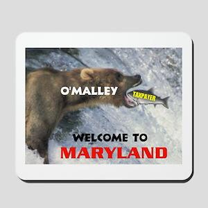 O'MALLEY'S TAXES Mousepad
