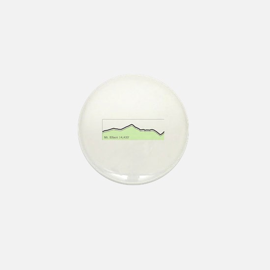 Mt. Elbert 14er Collection Mini Button