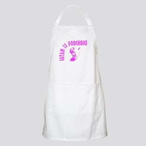Cute anti-abortion Light Apron
