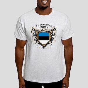 Number One Estonian Uncle Light T-Shirt