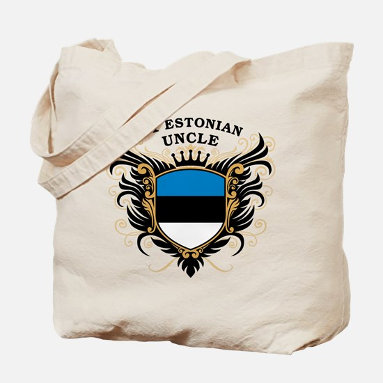 Number One Estonian Uncle Tote Bag