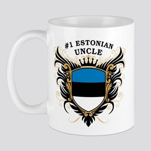 Number One Estonian Uncle Mug