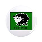 "Black Sheep 3.5"" Button (100 pack)"