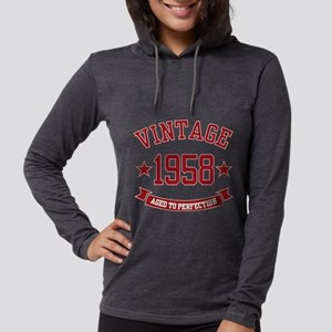 1958 Vintage Aged to Perfection Long Sleeve T-Shir