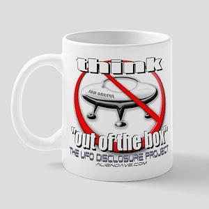 """out of the box"" Mug"