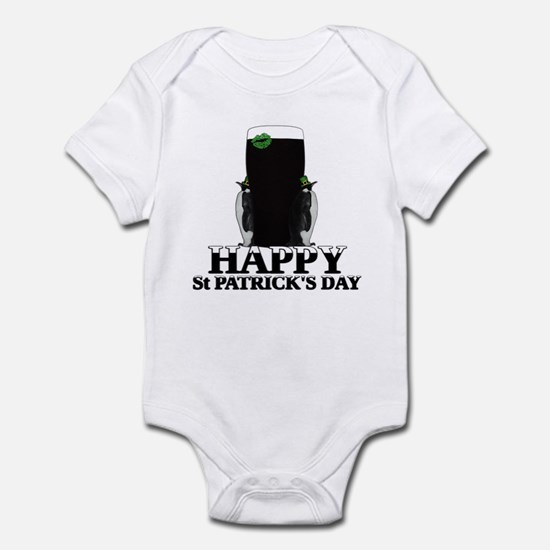 Happy St.Patrick's Day Infant Bodysuit
