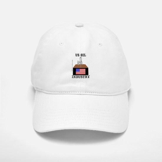 US Oil Industry Baseball Baseball Cap