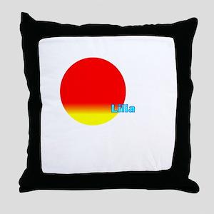 Lilia Throw Pillow