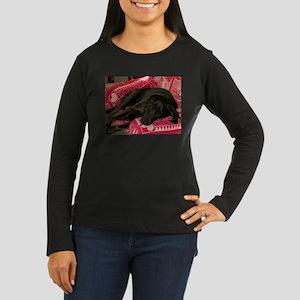 ARROW DREAMS Women's Long Sleeve Dark T-Shirt
