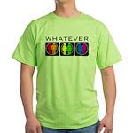 Rainbow Whatever Green T-Shirt