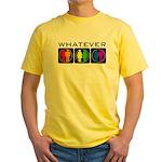 Rainbow Whatever Yellow T-Shirt