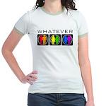 Rainbow Whatever Jr. Ringer T-Shirt