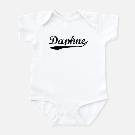 Vintage Daphne (Black) Infant Bodysuit
