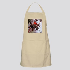 Christmas cardinal Light Apron