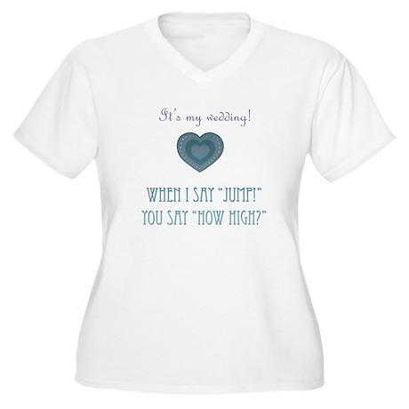 Jump Women's Plus Size V-Neck T-Shirt