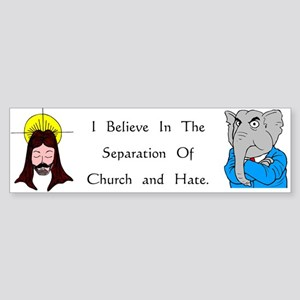 Separation Bumper Sticker