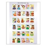 Babies and Sign Language Large Poster