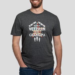 Being A Veteran T Shirt, Being A Grandpa T T-Shirt