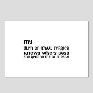 My Glen Of Imaal Dog Desi Postcards (Package of 8)