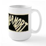 L'Absinthe c'est la mort Large Mug