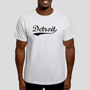 Vintage Detroit (Black) Light T-Shirt