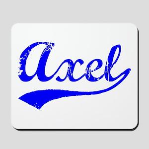 Vintage Axel (Blue) Mousepad