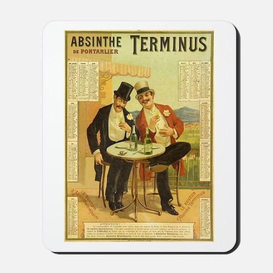 Absinthe Terminus Mousepad
