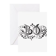 MARKA BO SHADED Greeting Cards (Pk of 20)