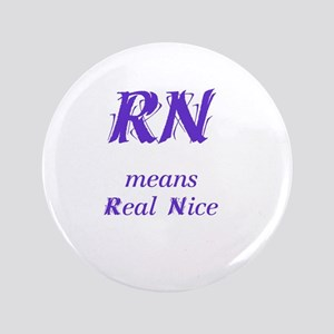 "Purple RN 3.5"" Button"