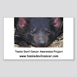 Tassie Devil Diner Rectangle Sticker