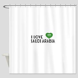 I Love Saudi Arabia Shower Curtain