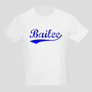 Vintage Bailee (Blue) Kids Light T-Shirt