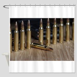 Shiny Bullets Shower Curtain