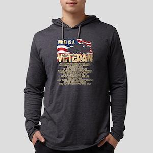 What Is A Veteran T Shirt, Vet Long Sleeve T-Shirt
