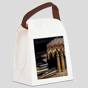Rifle Ammunition Canvas Lunch Bag