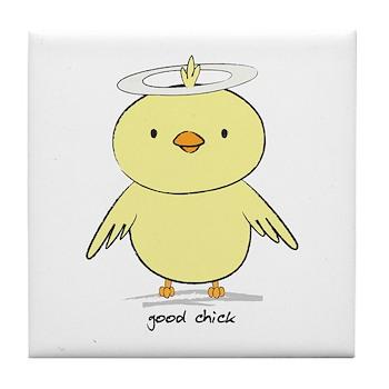Good Chick Tile Coaster