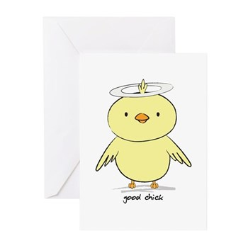 Good Chick Greeting Cards (Pk of 10)
