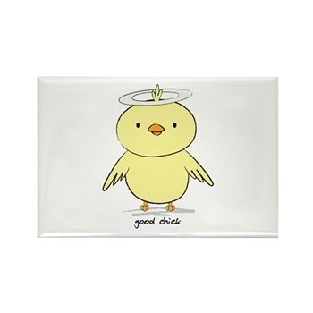 Good Chick Rectangle Magnet