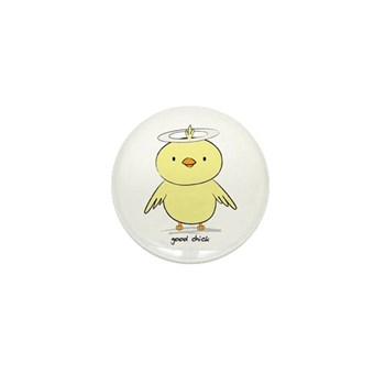 Good Chick Mini Button (10 pack)