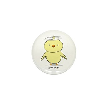 Good Chick Mini Button