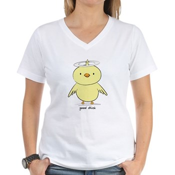 Good Chick Women's V-Neck T-Shirt