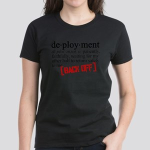 dictionary deployment Women's Dark T-Shirt
