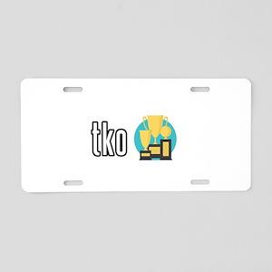 tko Aluminum License Plate