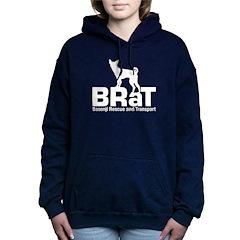 Women's Dark Hooded Sweatshirt